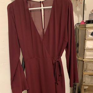 Lush wrap dress (Nordstrom)
